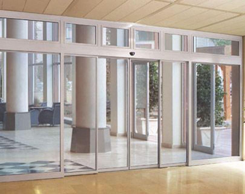 درب های اتوماتیک شیشه ای اضطراری